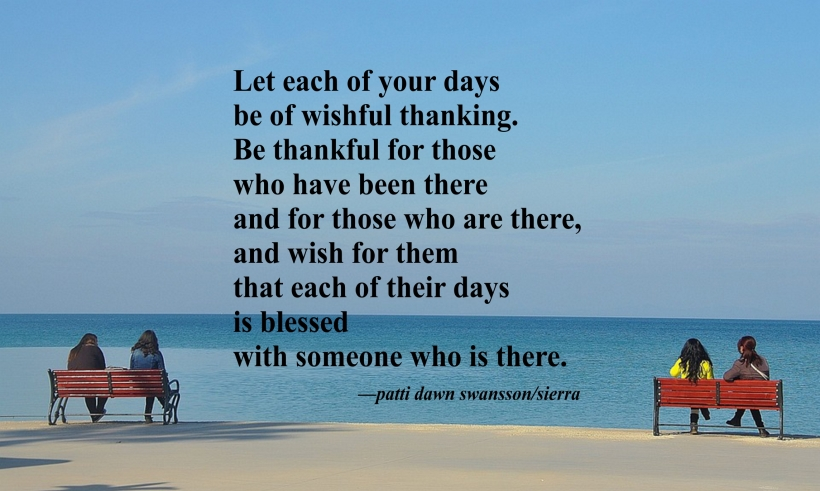 wishful thanking quote
